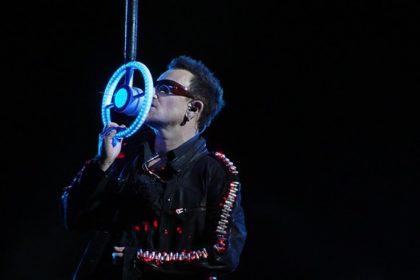 U2 Konzert mit Bono