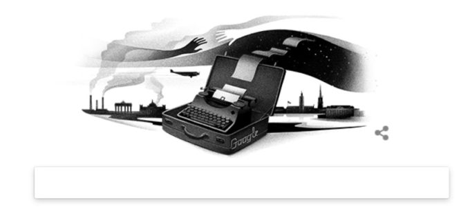 Google Doodle Nelly Sachs